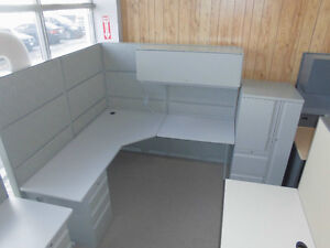 """CUBICLES TEKNION TOS 6 X 6 USED 66"""" HIGH ONLY $599.99"""