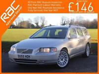 2005 Volvo V70 2.4 T5 260 BHP SE 6 Speed Four-C Estate Full Leather Heated Seats