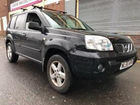 Nissan X-Trail 55 REG 2.2 dCi SVE 5 door STARTS AND DRIVES, SUNROOF, ROOF RACK