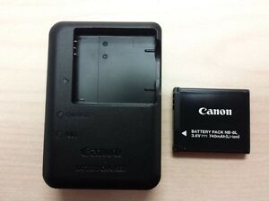 Canon Battery and Charger