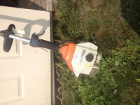 Stihl gas powered F5 36 weed trimmer