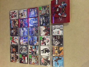 PS3/ 2 controllers/ 38games