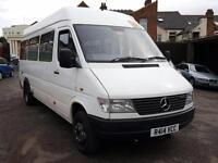Mercedes-Benz SPRINTER 410D + 17 SEATER + LWB + TWIN WHEELS