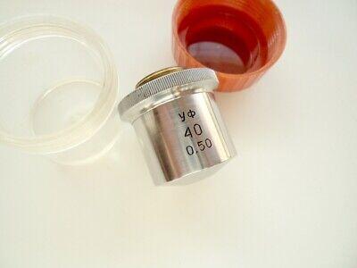 Lens Uv 40x050 Ultraviolet Lomo Microscope