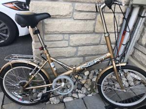 """NEXT Folding bike 20""""  6 Speed"""