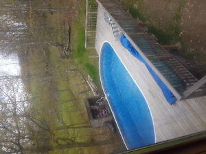15 x 30ft above ground high quality pool