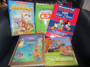 Selection of French Books - Great condition