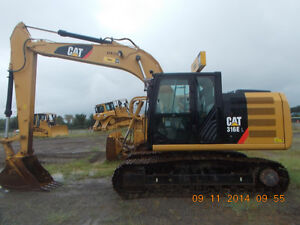 2012 CATERPILLAR 316E L TRACK EXCAVATOR-LEASE TO OWN OR FINANCE Regina Regina Area image 3