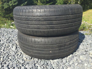 Two P235/60R17 Summer Tires Great Tread
