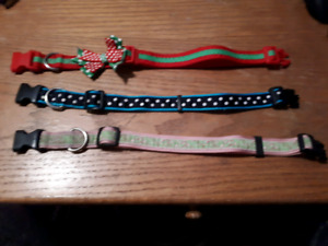 Large Dog Collars $10 each or $25 for all 3.