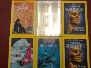 National Geographic Lot of approx 300 Magazines