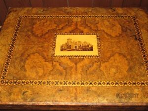 Antique backgammon / chess table