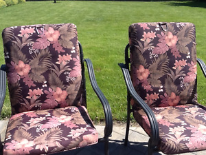 Lawn chairs and cushion