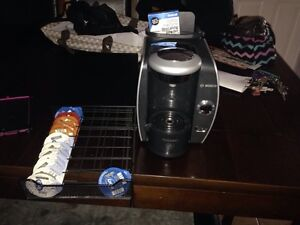 Tassimo with t-disk drawer