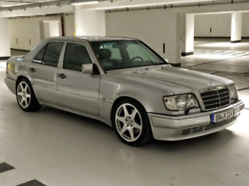 """Mercedes 18"""" evo ll alloy wheels 5x112 190 w124 e500 w211"""