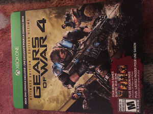 Gears of War 1-2-3 and 4 Ultimate Edition Xbox One