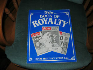 THE SUNS BOOK OF ROYALTY FROM AUG 1/1970 TO SEP 7 1983
