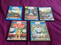 Thomas the tank engine. Dvds
