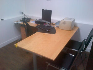 FULLY FURNISHED OFFICE ROOM AVAILABLE FOR RENT