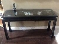 Table chinoise haute gamme