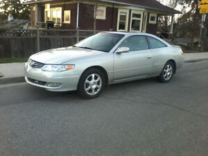 2003 toyota Solara  the car is in good condition Coupe (2 door)