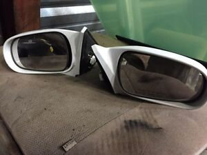 Honda Civic mirrors various colours