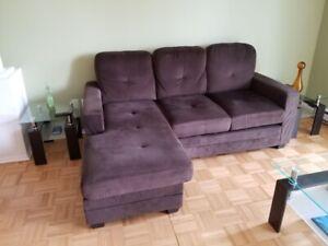 Sofa en velours