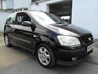 Hyundai Getz 1.3 Sport 70000 MILES COMPLETE WITH M.O.T HPI CLEAR INC WARRANTY