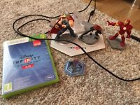 Disney infinity 2.0 with characters and world