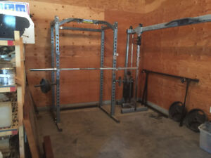 Almost new commercial gym equipment