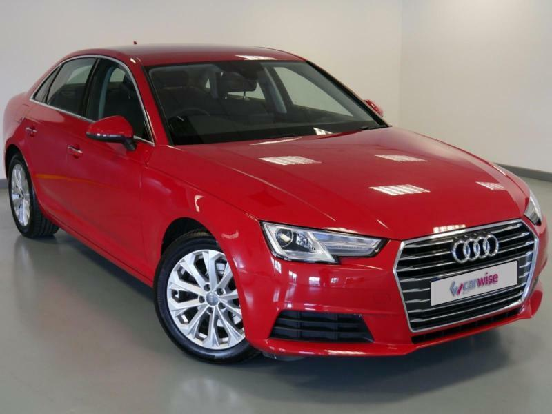 2016 Audi A4 2.0T FSI SE 4dr Petrol red Manual