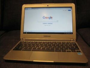 "11.6"" Samsung Chromebook, 1.70 GHz CPU, 16GB SSD, 2GB RAM"