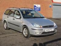 2005/05 Ford Focus Estate 1.8i petrol, 12 months mot, only 83000 miles