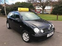 Volkswagen Polo 1.4 75 PS Twist Auto (black) 2003