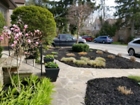 Landscaper available for Spring cleanups, fence and post repair