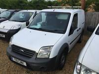 FORD TRANSIT CONNECT NO VAT T200 LR 75tdci , White, Manual, Diesel, 2011