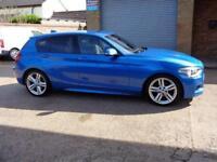 2013 03 BMW 1 SERIES 1.6 116I M SPORT 5D 135 BHP
