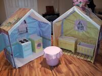Rose Petal Cottage Play house and Accessories