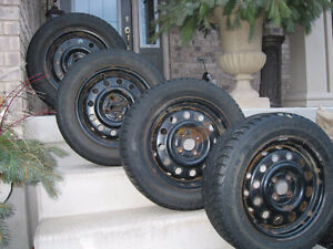 ***Gislaved Winter Tires with Rims-- 185 65R 15***