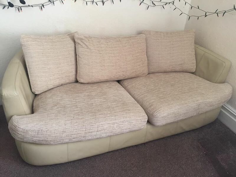Sofain Southampton, HampshireGumtree - Really good condition. 2 3 seats creamy sofa.I can deliver locally if someone want