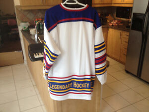Oldtimers Hockey Challenge Jersey XL and Leafs Centennial Ticket