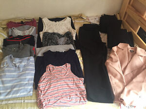 Maternity clothes lot - size Small