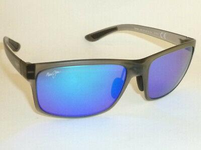 New Authentic Polarized MAUI JIM  POKOWAI ARCH  Sunglasses B439-11M  Blue (Maui Jim Blue Lens Sunglasses)