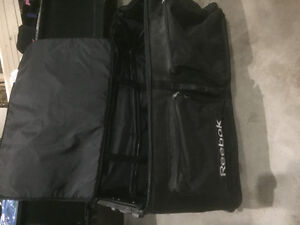 Rectangular wheel hockey bag (was used to haul team skates)