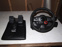 PS3 Racing Wheel and Games
