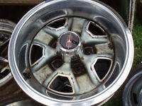 Set of 5 Olds Cutlass 14in Rally Rims