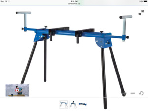 """Mastercraft and King Canada folding Mitre saw stands """"NEW"""""""