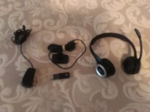 logitech wireless skype head set