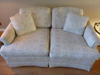 Comfortable and Clean Loveseat