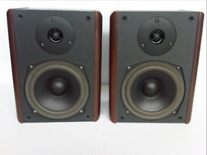 2-Pairs of Bookshelf Speakers, AND a Kenwood Sub Woofer.